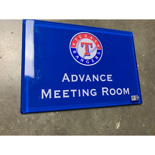 Photo of Home Clubhouse Door Sign - ADVANCE MEETING ROOM