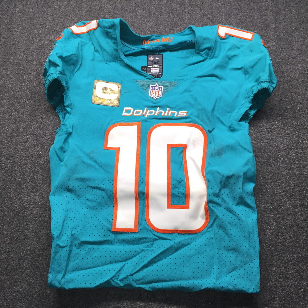 NFL Auction | STS - Dolphins Kenny Stills Game Used Jersey Size 38 ...