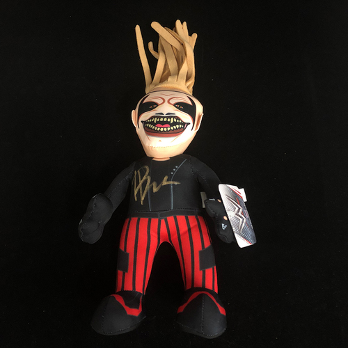 Photo of Bray Wyatt SIGNED The Fiend Plush Bleacher Creature