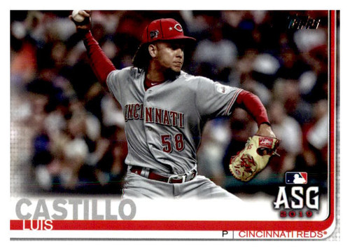 Photo of 2019 Topps Update #US126 Luis Castillo AS