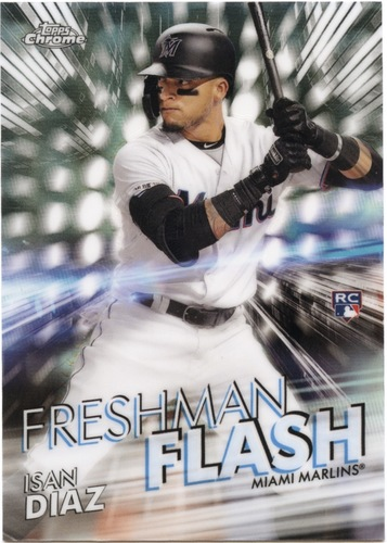 Photo of 2020 Topps Chrome Freshman Flash #FF14 Isan Diaz