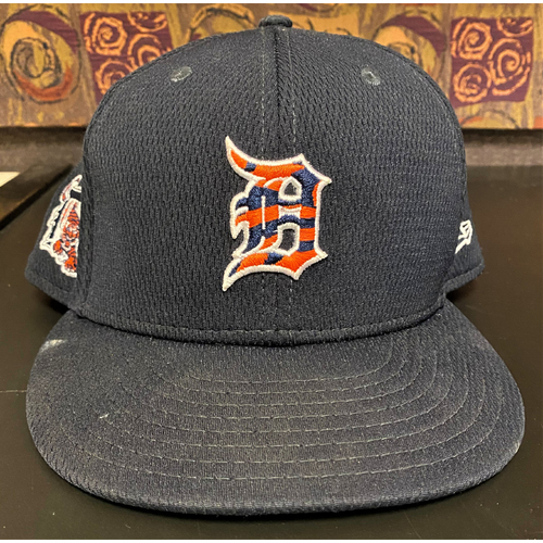 Photo of 2020 Team-Issued Spring Training Detroit Tigers Cap #24 (Miguel Cabrera Spring Training Jersey #) (MLB AUTHENTICATED)