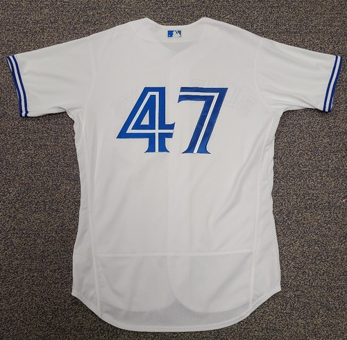 Photo of Authenticated Team Issued 2020 Summer Training Camp Jersey: #47 Anthony Kay. Size 46.