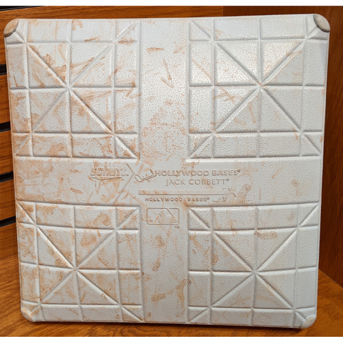 Red Sox vs. Yankees Jeter Final Weekend September 27, 2014 Game Used 1st Base