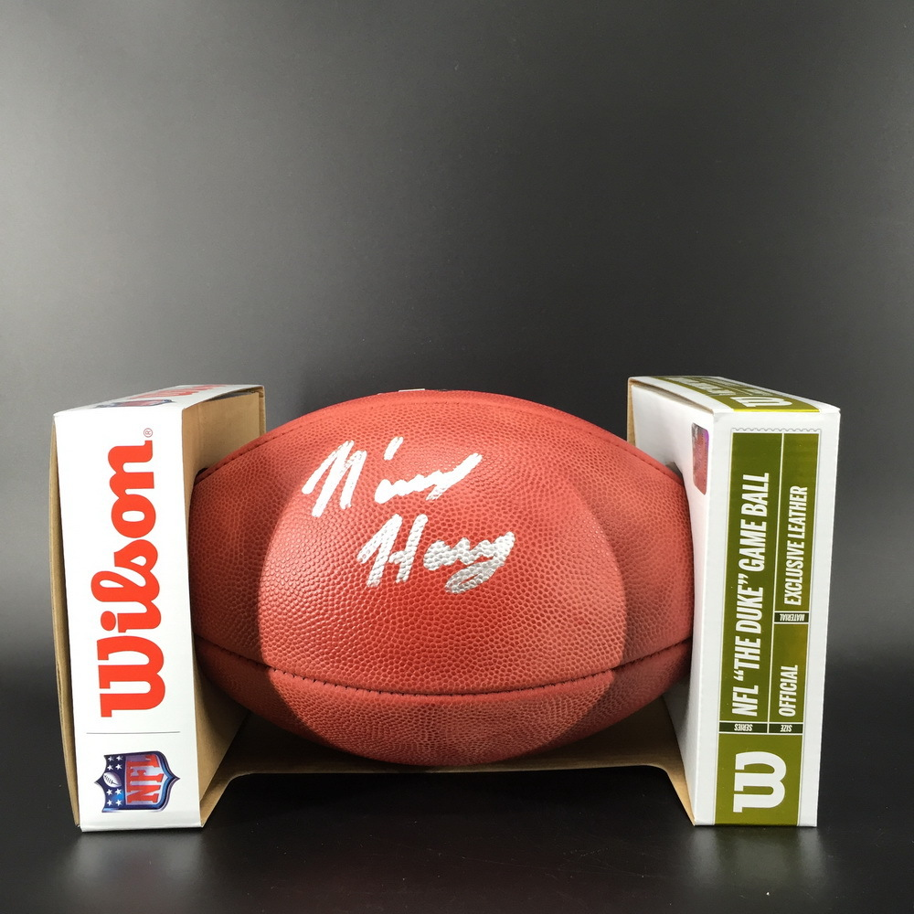 NFL - Patriots N'Keal Harry Signed Authentic Football