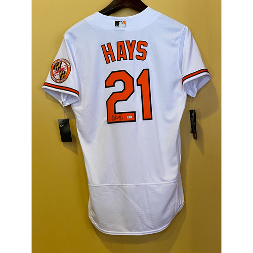 Photo of Austin Hays:  Jersey - Autographed