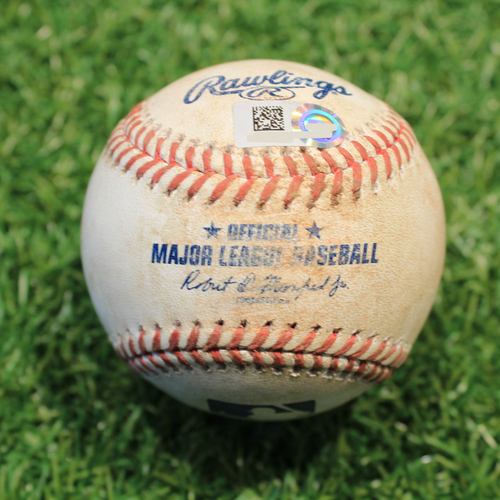 Photo of Game-Used Baseball: Franmil Reyes 44th Career Double (CLE@KC 5/3/21)