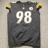 Crucial Catch - Steelers Vince Williams Game Used Jersey (10/11/20) Size 44