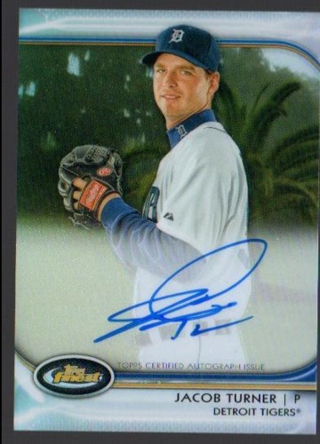 Photo of 2012 Finest Rookie Autographs Refractors #JT Jacob Turner