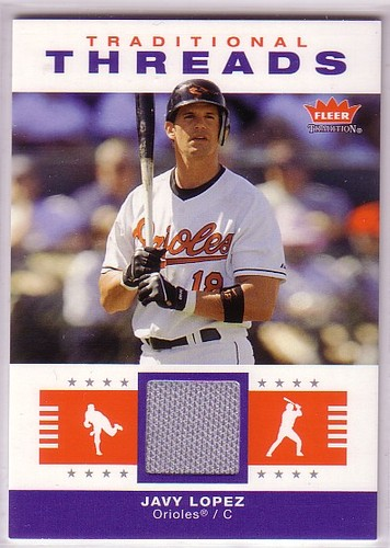 Photo of 2006 Fleer Tradition Traditional Threads #JL Javy Lopez Jsy