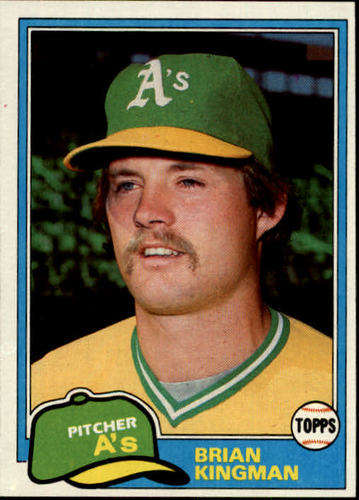 Photo of 1981 Topps #284 Brian Kingman