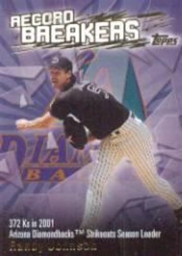 Photo of 2003 Topps Record Breakers #RJ1 Randy Johnson 1
