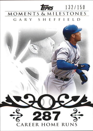 Photo of 2008 Topps Moments and Milestones #52-287 Gary Sheffield