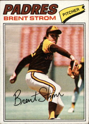 Photo of 1977 Topps #348 Brent Strom