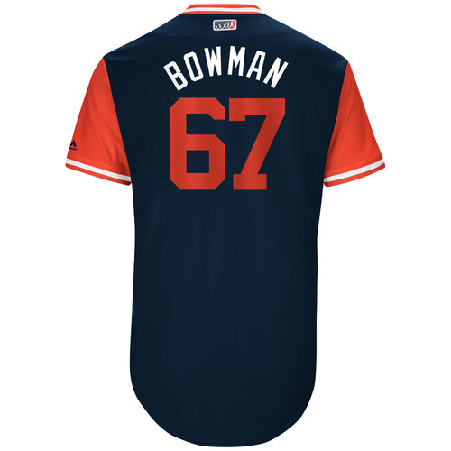 "Photo of Matt ""Bowman"" Bowman St. Louis Cardinals Game-Used Players Weekend Jersey"