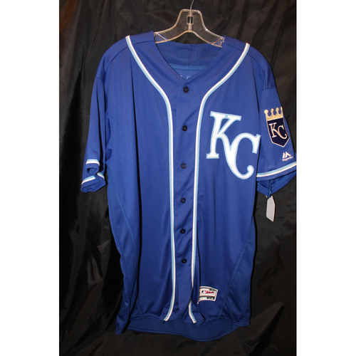 Photo of Game-Used Jersey: Brandon Maurer (KC at BOS - 7/30/2017)