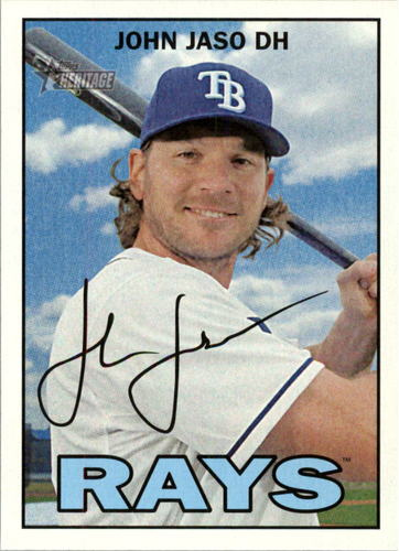Photo of 2016 Topps Heritage #215 John Jaso