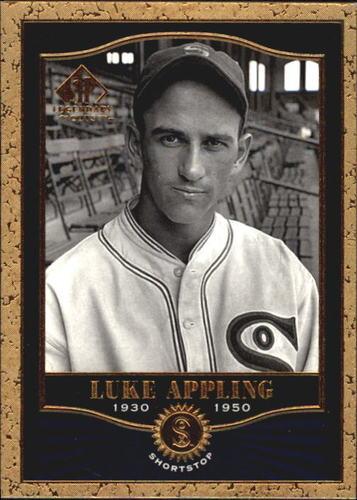 Photo of 2001 SP Legendary Cuts #74 Luke Appling