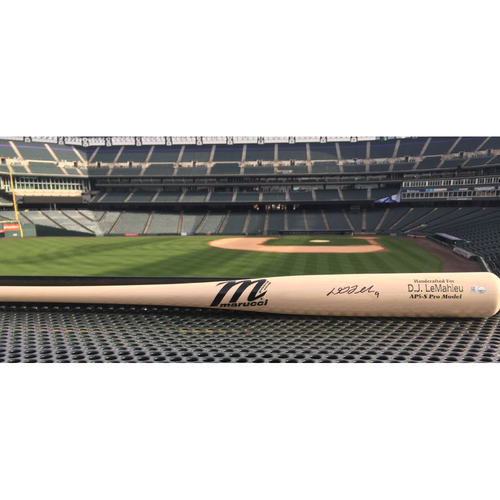 Photo of Colorado Rockies Autographed Replica Bat - D.J. LeMahieu