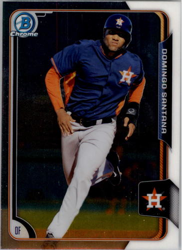 Photo of 2015 Bowman Chrome Prospects #BCP109 Domingo Santana