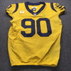 NFL - Rams Michael Brockers Historic Monday Night Game Used Jersey Size 46 (11/19/18) w/ Captain's Patch