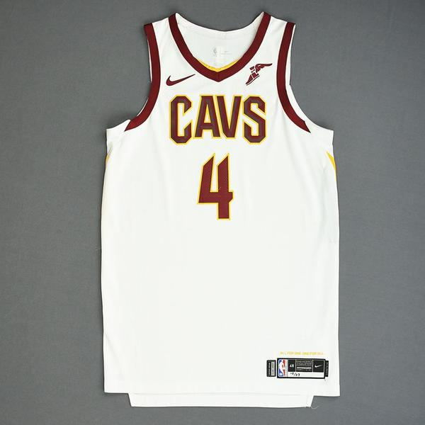 Image of Kevin Porter Jr. - Cleveland Cavaliers - Game-Worn Association Edition Rookie Debut Jersey - 2019-20 Season