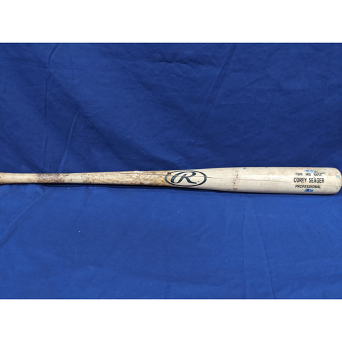 Photo of Corey Seager Game Used Broken Bat