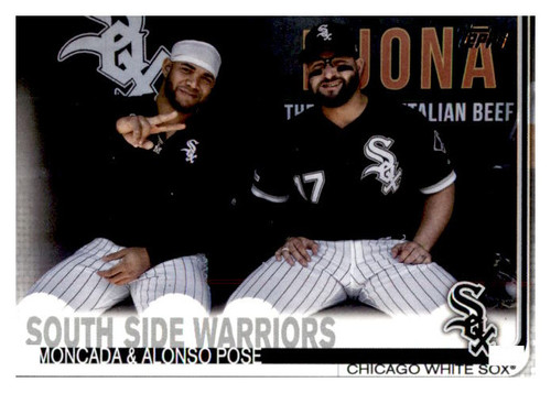 Photo of 2019 Topps Update #US172 Yoan Moncada/Yonder Alonso