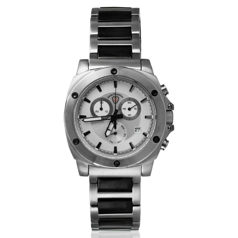 Photo of Swiss Tradition Two Tone Stainless Steel Chronograph Watch