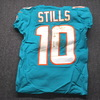 STS - Dolphins Kenny Stills Game Used Jersey Size 38 (11/4/18) w/ Captain's Patch