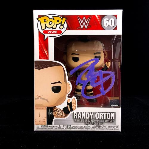 Photo of Randy Orton SIGNED POP! Vinyl Figure