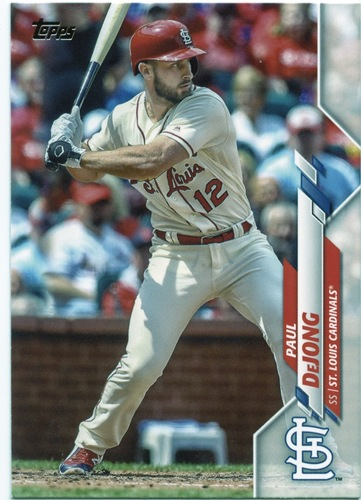 Photo of 2020 Topps #492 Paul DeJong
