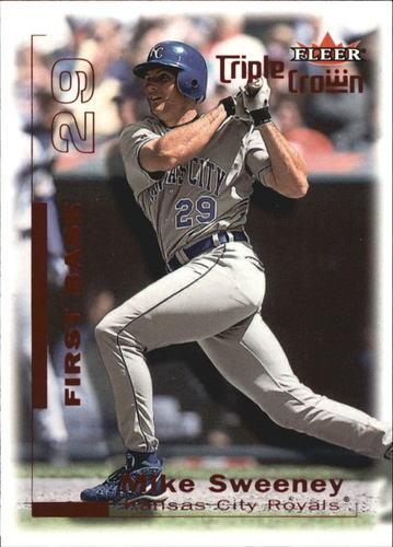 Photo of 2001 Fleer Triple Crown Red #37 Mike Sweeney/333