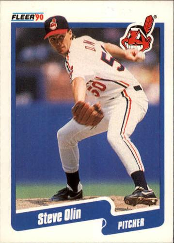Photo of 1990 Fleer #499 Steve Olin RC