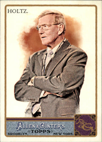 Photo of 2011 Topps Allen and Ginter #3 Lou Holtz