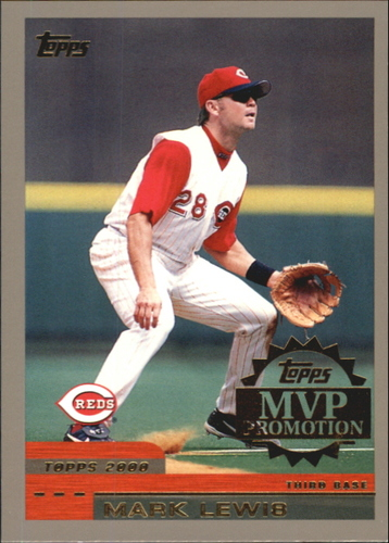 Photo of 2000 Topps MVP Promotion #21 Mark Lewis