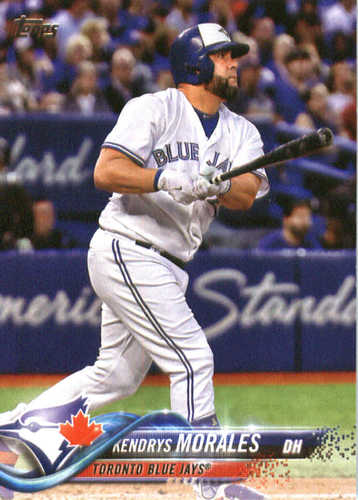 Photo of 2018 Topps #117 Kendrys Morales