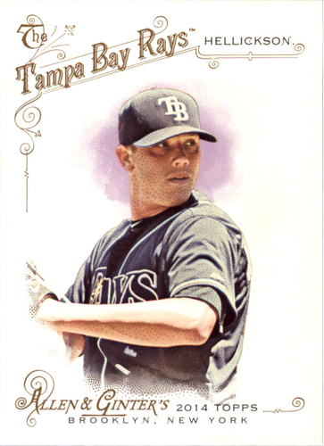 Photo of 2014 Topps Allen and Ginter #110 Jeremy Hellickson