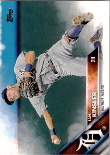 Photo of 2016 Topps #275A Ian Kinsler
