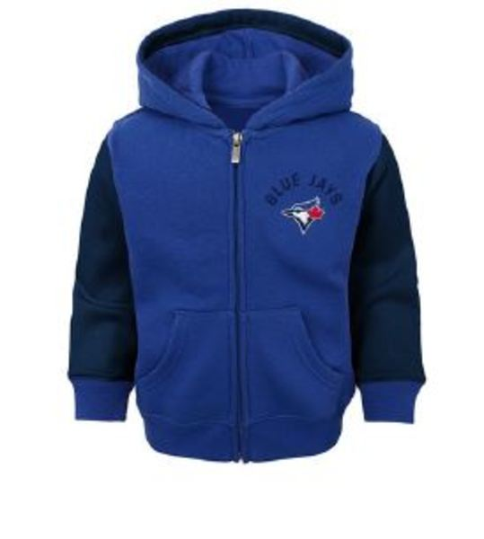 Toronto Blue Jays Youth Fielder Hoodie by Majestic