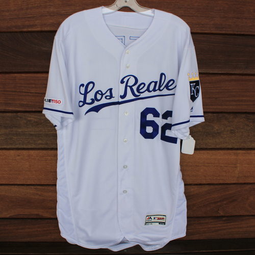 Photo of Team-Issued Los Reales Jersey: Conner Greene (Size 44)