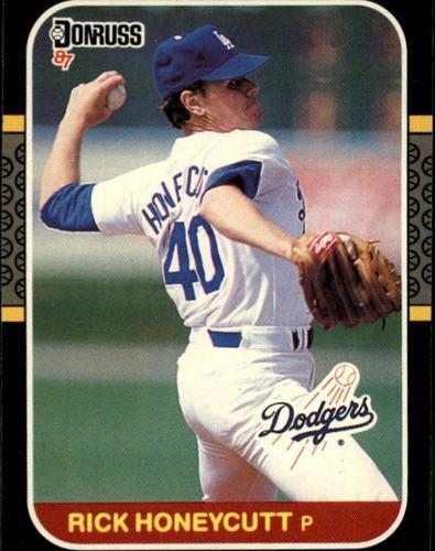 Photo of 1987 Donruss #402 Rick Honeycutt