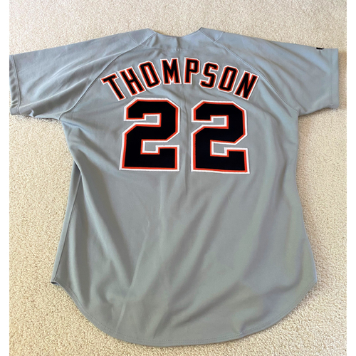 Justin Thompson #22 Detroit Tigers Road Jersey (NOT MLB AUTHENTICATED)