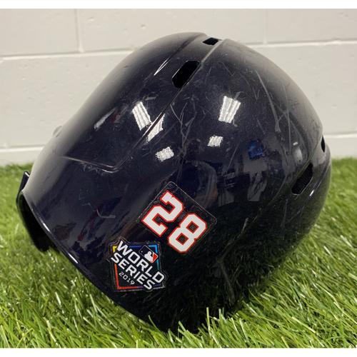 Photo of Kurt Suzuki Helmet with World Series Decal