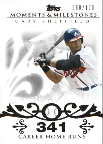 Photo of 2008 Topps Moments and Milestones #52-341 Gary Sheffield