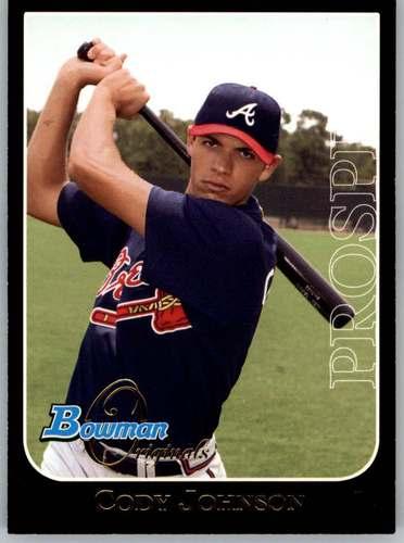 Photo of 2006 Bowman Originals Prospects Black #40 Cody Johnson