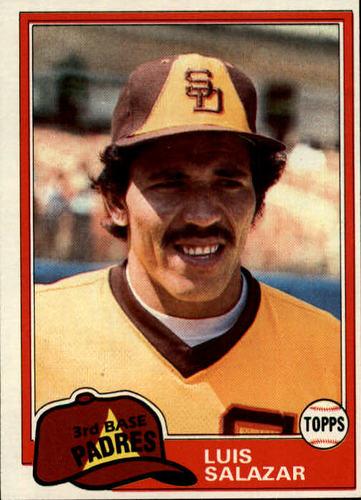 Photo of 1981 Topps #309 Luis Salazar RC