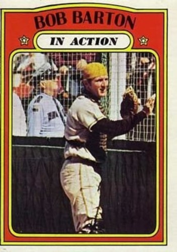 Photo of 1972 Topps #40 Bob Barton IA