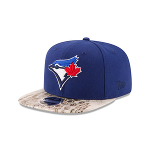 Toronto Blue Jays Croc Canvas Snapback Cap by New Era