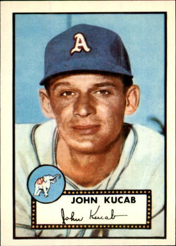 Photo of 1983 Topps 1952 Reprint #358 John Kucab